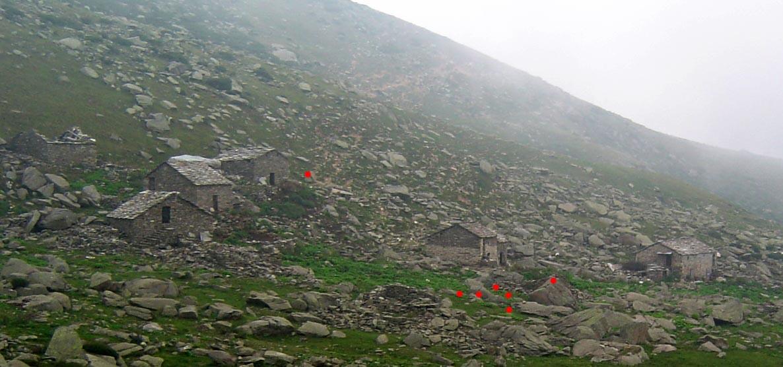 Veduta dell'alpe Piera
